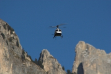 Modellflug in Tiers am Rosengarten in den Dolomiten_24