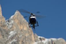 Modellflug in Tiers am Rosengarten in den Dolomiten_26
