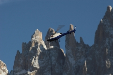 Modellflug in Tiers am Rosengarten in den Dolomiten_35