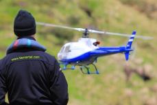 Modellflug in Tiers am Rosengarten in den Dolomiten_4