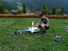 Modellflug in Tiers am Rosengarten in den Dolomiten_61